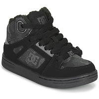Shoes Children Hi top trainers DC Shoes PURE HIGH-TOP Black / Grey