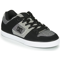 Shoes Men Low top trainers DC Shoes PURE Black / Grey