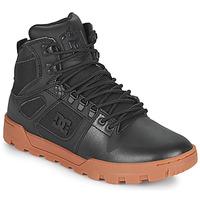 Shoes Men Hi top trainers DC Shoes PURE HIGH TOP WR BOOT Black