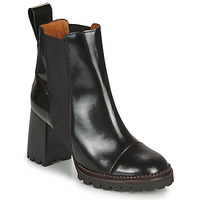 Shoes Women Ankle boots See by Chloé TRINIDAD Black