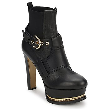 Shoes Women Ankle boots Moschino MA2105 NERO