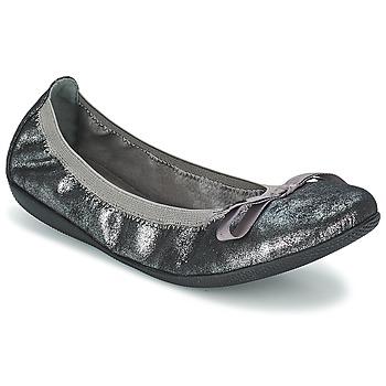 Shoes Women Flat shoes Les P'tites Bombes ELLA METAL Silver