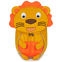 Bags Children Rucksacks Affenzahn LENA LION Orange