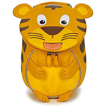 Bags Children Rucksacks Affenzahn TIMMY TIGER Yellow