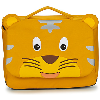 Bags Children Satchels Affenzahn TIMMY TIGER Yellow
