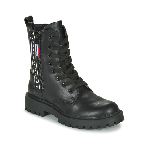 Shoes Children Mid boots Tommy Hilfiger T3A5-30851 Black