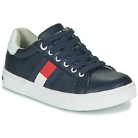 Shoes Boy Low top trainers Tommy Hilfiger T3B4-30921 Blue