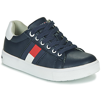 Shoes Boy Low top trainers Tommy Hilfiger T3B4-30921 Black