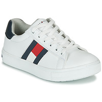 Shoes Children Low top trainers Tommy Hilfiger T3B4-30921-0900X336-C White