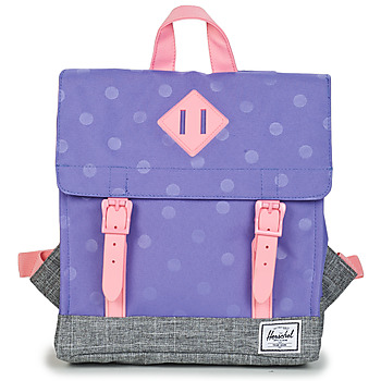 Bags Girl Rucksacks Herschel SURVEY KIDS Purple