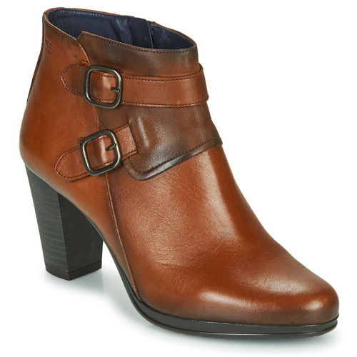 Shoes Women Ankle boots Dorking JIN Brown