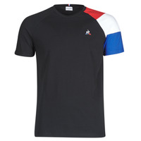 Clothing Men short-sleeved t-shirts Le Coq Sportif ESS TEE SS N°10 M Black