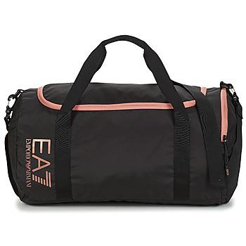Bags Women Sports bags Emporio Armani EA7 TRAIN CORE U GYM BAG SMALL Black / Pink