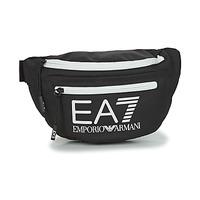 Bags Bumbags Emporio Armani EA7 TRAIN CORE U SLING BAG Black / White