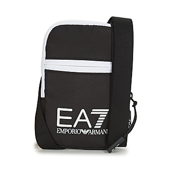 Bags Men Pouches / Clutches Emporio Armani EA7 TRAIN CORE U MINI POUCH BAG Black / White
