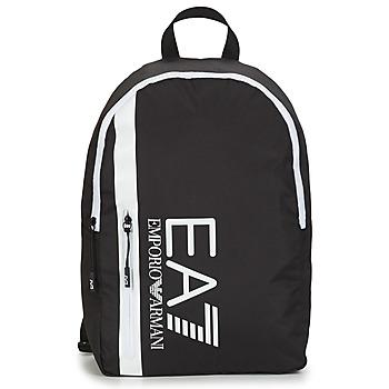 Bags Men Rucksacks Emporio Armani EA7 TRAIN CORE U BACKPACK B Black / White