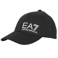 Clothes accessories Men Caps Emporio Armani EA7 TRAIN CORE ID M LOGO CAP Black