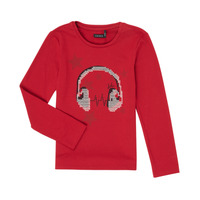Clothing Girl Long sleeved tee-shirts Ikks XR10062 Red