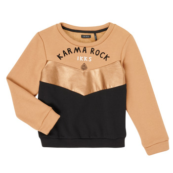 Clothing Girl Sweaters Ikks XR15012 Brown