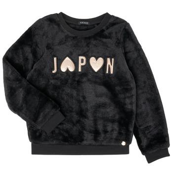 Clothing Girl Sweaters Ikks XR15042 Black