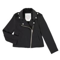 Clothing Girl Jackets / Cardigans Ikks XR17002 Black