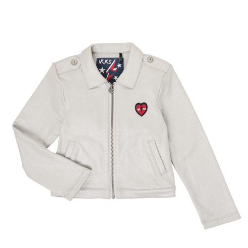 Clothing Girl Jackets / Cardigans Ikks XR17032 Grey