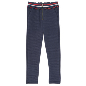 Clothing Girl 5-pocket trousers Ikks XR23002 Blue