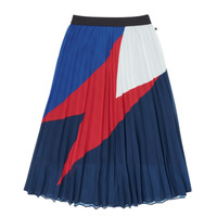 Clothing Girl Skirts Ikks XR27052 Blue
