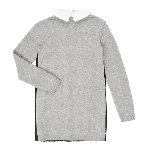 Clothing Girl Short Dresses Ikks XR30082 Grey