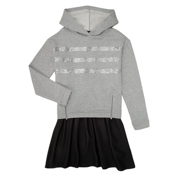 Clothing Girl Short Dresses Ikks XR30112 Grey