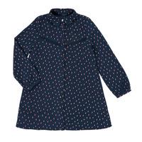 Clothing Girl Short Dresses Ikks XR30152 Blue