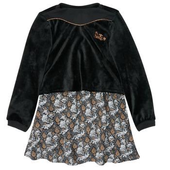 Clothing Girl Short Dresses Ikks XR30162 Black