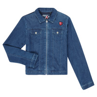 Clothing Girl Denim jackets Ikks XR40052 Blue