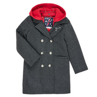 Clothing Girl Coats Ikks XR44012 Grey
