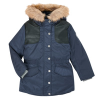 Clothing Girl Parkas Ikks XR49022 Blue