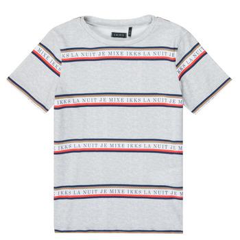 Clothing Boy Short-sleeved t-shirts Ikks XR10003 Grey