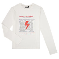 Clothing Boy Long sleeved tee-shirts Ikks XR10023 White