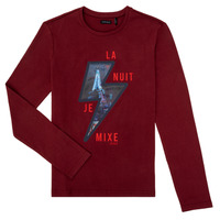 Clothing Boy Long sleeved tee-shirts Ikks XR10053 Red