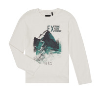 Clothing Boy Long sleeved tee-shirts Ikks XR10163 White