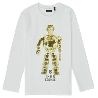 Clothing Boy Long sleeved tee-shirts Ikks XR10233 White