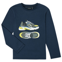 Clothing Boy Long sleeved tee-shirts Ikks XR10263 Blue