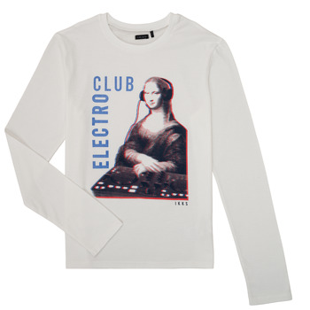 Clothing Boy Long sleeved tee-shirts Ikks XR10333 White