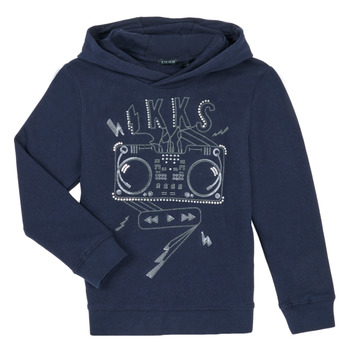 Clothing Boy Sweaters Ikks XR15003 Blue