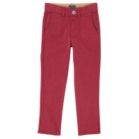 Clothing Boy 5-pocket trousers Ikks XR22093 Red