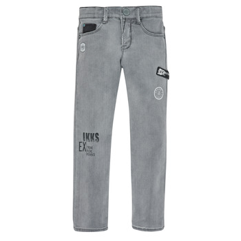 Clothing Boy Slim jeans Ikks XR29123 Grey