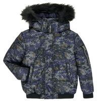 Clothing Boy Duffel coats Ikks XR41133 Blue