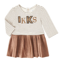 Clothing Girl Short Dresses Ikks XR30070 Beige