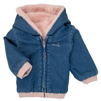 Clothing Girl Jackets Ikks XR40020 Blue