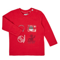 Clothing Boy Long sleeved tee-shirts Ikks XR10011 Red