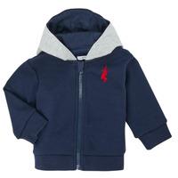 Clothing Boy Jackets / Cardigans Ikks XR17001 Blue
